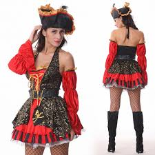 Halloween Costumes Spanish Dancer 2015 Free Shipping Fashion Spanish Pirate Costume Good Quality