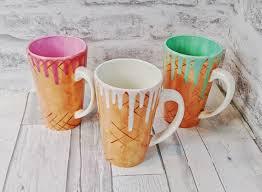 cute mugs mugs u0026 more ice cream also coffee
