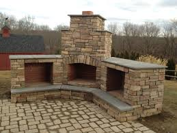 marvelous ideas corner outdoor fireplace best patio fireplace