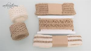 burlap ribbon flax abaca burlap ribbon cord net lattice mesh design gift wrap