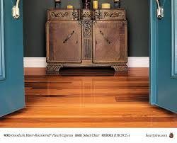 cypress select clear wood flooring