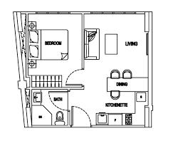 Bachelor Apartment Floor Plan by Transforming A 35sqm Bachelor U0027s Pad Cavan Suite