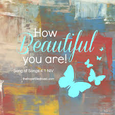 how beautiful you are