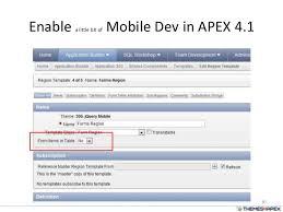 apex u0026 jquery mobile