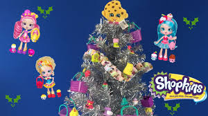 shopkins tree ornaments with shoppies mlp disney
