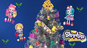 shopkins christmas tree ornaments with shoppies mlp disney