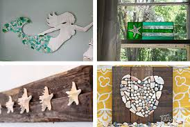 Diy Crafts Room Decor - beach crafts coastal diy wall art