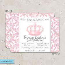 princess dress up party birthday invitation idea parties