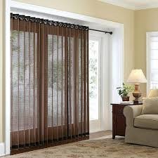 Enclosed Blinds For Sliding Glass Doors Window Blinds Window Treatments Over Blinds Textured Wood