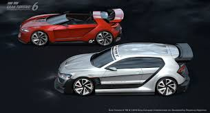 volkswagen gti roadster volkswagen visiongti experience the gran turismo