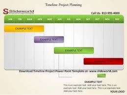 timeline project powerpoint template