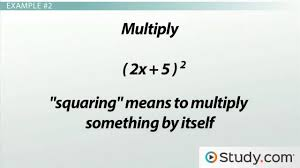 multiplying binomials using foil u0026 the area method practice