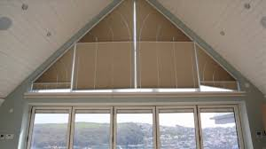 motorised gable end blinds youtube