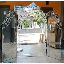 tri fold venetian mirror mg 017015 try fold dressing mirrors