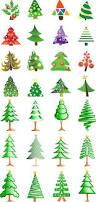 skinny christmas tree clip art 31