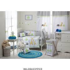 Crib Bedding Animals Baby Boy Grey Safari 4 Pc Crib Bedding Sets Crib Bedding