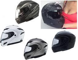 Motorcycle Helmet Lights Gmax Gm54s Modular Motorcycle Street Helmet With Led Lights