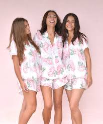 bridesmaid pajama sets and will monogrammed boyfriend shirts for