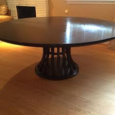 crate and barrel marble dining table enchanting best crate barrel 72 monroe ebony chestnut round dining