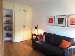 Washing Machine On Laminate Floor Studio Apartment In Paris With Lift Washing Machine 375080