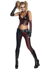 Halloween Costume Sale Uk Harley Quinn Costume Arkam Asylum Escapade Uk