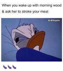 Morning Wood Meme - 25 best memes about waking up with morning wood waking up with