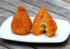 coxinha brazilian chicken croquettes recipe