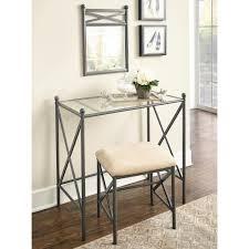 linon home decor bar stools linon home decor mission hills 2 piece metal vanity set 57752mtl