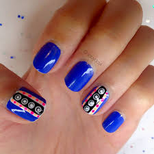 manicure monday 3d polka dot accent nails styled with joy