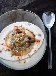 cuisiner les topinambours a la poele recette de crème de topinambours et chignons poêlés