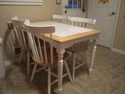 Awesome Tile Kitchen Table Photos Home  Interior Design - Tile top kitchen table and chairs