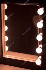 professional makeup artist lighting studio makeup table mirror lights stock photo edwardolive