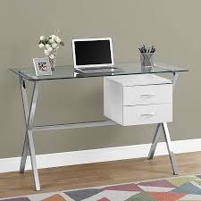 White Contemporary Desks by Modern Desks Wiltz White Desk Eurway Furniture