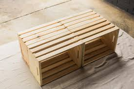 Build A Wood Coffee Table by Make A Mobile Outdoor Coffee Table From Wooden Crates Hgtv