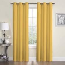 Yellow Drapery Yellow Curtains U0026 Drapes Window Treatments Home Decor Kohl U0027s