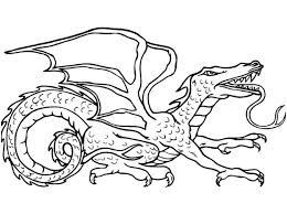 realistic dragon coloring pages coloring pages kids
