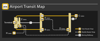 Washington Dulles Airport Map by D2 Projects Aerotrain Maintenance Facility Metropolitan