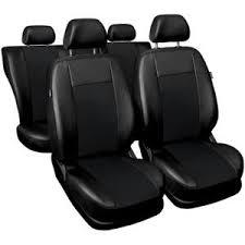 housse siege auto simili cuir housses de siège en simili cuir noir pour dacia duster qd218