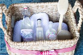 spa gift basket gift giving the spa gift basket erin spain