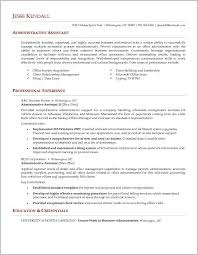 free resume templates for executive assistant free cover letter sle for administrative assistant cover