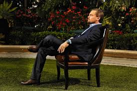 Chair In Garden Leonardo Dicaprio Seating On Chair In Garden Hd Images