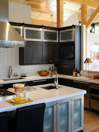 Thomasville Kitchen Cabinets Review Furniture Black Thomasville Cabinets With White Countertop And