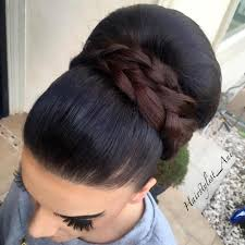 big bun hair 40 most delightful prom updos for hair in 2018