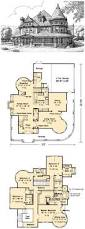 nice layout victorian house plan with 3965 square feet and