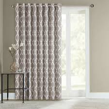 curtains for sliding doors love the sheer curtain underneath and
