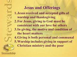 an adventist theology of offerings ppt