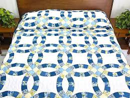 wedding ring quilt for sale quiltsmart wedding ring wedding ring