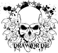 skulls roses coloring 29742 bestofcoloring