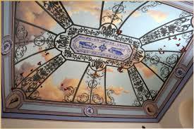 soffitti dipinti soffitti dipinti soffitto cielo e farfalle dimore