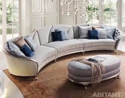 Living Room Amazing Round Sectional Sofa Bed Circular Couch Ideas - Curved contemporary sofa living room furniture